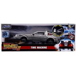 Jada Hollywood Rides Back To The Future DeLorean 1:24 Diecast Model Car