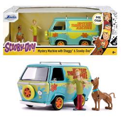 Jada Diecast Scooby Doo Mystery Machine with Scooby & Shaggy 1:24 Model Car
