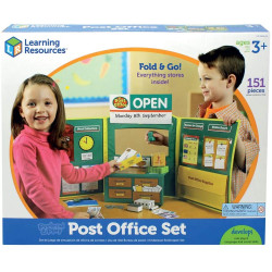 Learning Resources Pretend & Play Post Office Set Shop Role Play