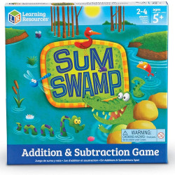 Learning Resources Sum Swamp Addition & Subtraction Game Maths Educational