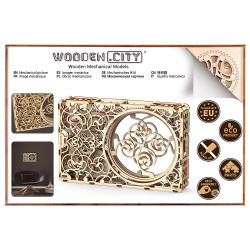 Wooden City Mechanical picture Mechanical Wooden Model Kit 265pcs WR311