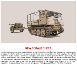 ITALERI 6563 RSO/03 with PaK 40 1:35 Military Model Kit
