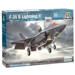 ITALERI 1425 RAF Lockheed Martin F-35B Lightning II 1:72 Plastic Model Plane Kit