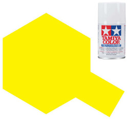 TAMIYA PS-6 Yellow Polycarbonate Spray Paint 100ml Lexan RC Car Body
