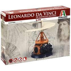 ITALERI Leonardo Da Vinci Helicopter 3110 Model Kit