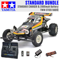 TAMIYA RC 58336 The Hornet 2004 1:10 Standard Stick Radio Bundle