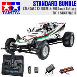TAMIYA RC 58346 The Grasshopper off-road buggy 1:10 Standard Stick Radio Bundle
