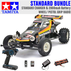 TAMIYA RC 58336 The Hornet 2004 1:10 Standard Wheel Radio Bundle