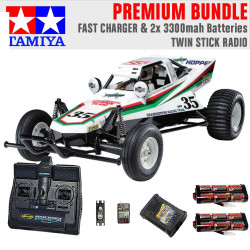 TAMIYA RC 58346 The Grasshopper off-road buggy 1:10 Premium Stick Radio Bundle