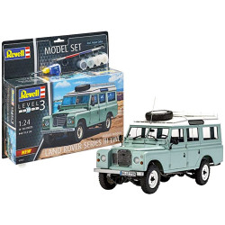 Revell 67047 07047 Land Rover Series III LWB Includes Paints, Glue & Brush
