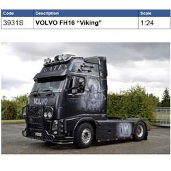 ITALERI 3931 Volvo FH-16 Viking 1:24 Truck Model Kit