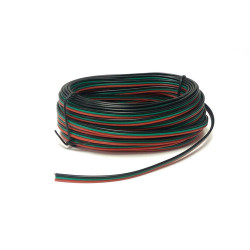 GAUGEMASTER Hornby Seep Point Motor Wire Red/Green/Black 10m Tripled GMC-PM51