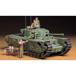 TAMIYA British Churchill VII Tank 35210 1:35 Military Model Kit