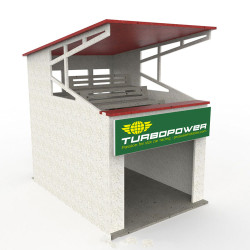 ProScale Hobbies Tier Pit Box MDF Kit 1:32 Slot Racing Accessories