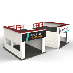 ProScale Hobbies Lateral Pit Box MDF Kit 1:32 Slot Racing Accessories