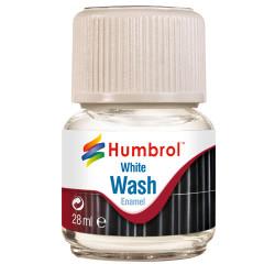 HUMBROL AV0202 Enamel Wash White 28ml