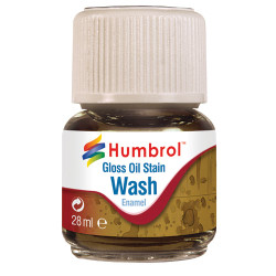 HUMBROL AV0209 Enamel Wash Oil Stain 28ml
