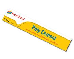 HUMBROL Poly Cement Medium 12ml Tube Adhesive Glue