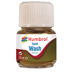 HUMBROL AV0207 Enamel Wash Sand 28ml