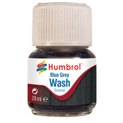 HUMBROL AV0206 Enamel Wash Blue Grey 28ml