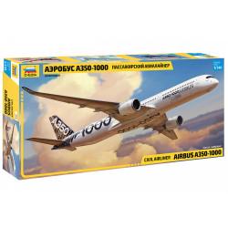 ZVEZDA Airbus A-350 1000 1:144 Plastic Model Kit Z7020
