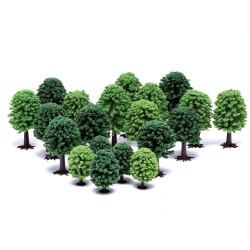 Hornby Scalextric Scenic Materials R7198 Deciduous Trees