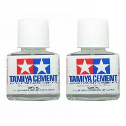 TAMIYA 87003 Liquid Cement Twin Pack 2 x 40ml