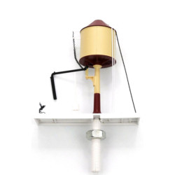 Dapol OO Gauge Motorised Water Tower Chocolate/Cream Conical 4A-002-002
