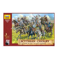 Zvezda Z8069 Scythian Cavalry V - Iii B.C 1:72 Plastic Model Kit