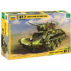 Zvezda Z3545 Soviet Light Tank Bt-7 1:35 Plastic Model Kit