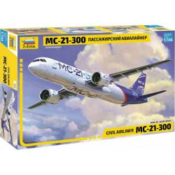 Zvezda Z7033 Irkut Ms-21-300 Airliner 1:144 Plastic Model Kit