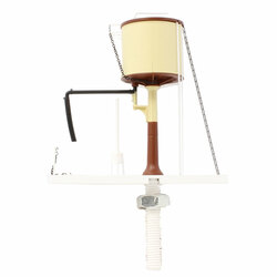Dapol OO Gauge Static Water Tower Chocolate/Cream Flat Top 4A-002-005