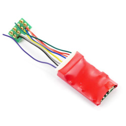 Gaugemaster DCC90 Ruby Series 2 Function Standard DCC Decoder 8 Pin