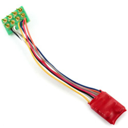 Gaugemaster DCC92 Ruby Series 2 Function Small DCC Decoder 8 Pin