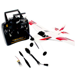Sonik Aviator 400 - Ready to Fly RC Plane Trainer with Flight Stabilisation