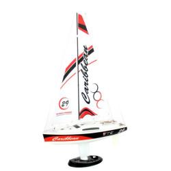 Joysway Caribbean Yacht 2.4GHz Ready to Run RC Yacht 8802 Red