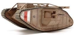 TAMIYA 30057 WWI British MkIV Tank Male Motorised 1:35 Military Model Kit
