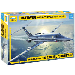 Zvezda Z7036 Tupolew Tu-134 Ubl Training Plane 1:144 Plastic Model Kit