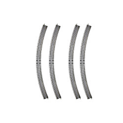 HORNBY Track R8262 4x Radius 4 Double Curve