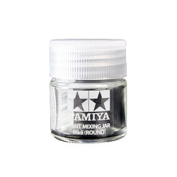 TAMIYA 81044 Paint Mixing Jar Mini (round)