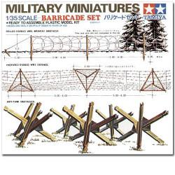 TAMIYA 35027 Barricades 1:35 Military Model Kit