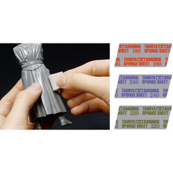 TAMIYA 87162 Sanding Sponge Sheet 240 - Tools / Accessories