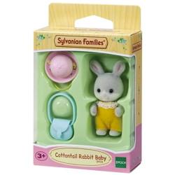 Sylvanian Families Cottontail Rabbit Baby Family Figure 5416