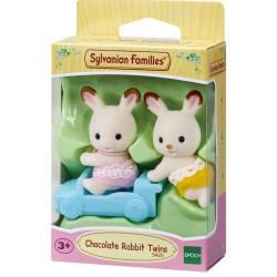 Sylvanian Families Chocolate Rabbit Twins Set Family Figures 5420