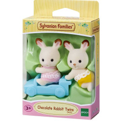Sylvanian Families Chocolate Rabbit Twins Set Family Figures 5420