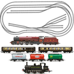HORNBY Digital Train Set HL4 Big Layout with 2 Trains - Fits on 8x4ft Board