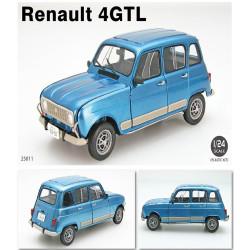 Ebbro 25011 Renault 4 GTL 1:24 Plastic Model Car Kit