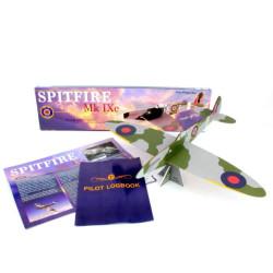 Prestige Models Free Flight Laser Cut Balsa Kit 1000 Spitfire Mk.Ixe