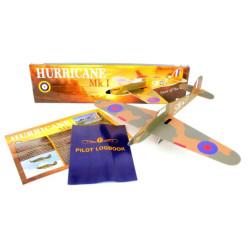 Prestige Models Free Flight Laser Cut Balsa Kit 1001 Hurricane Mk.I