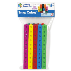 Learning Resources Snap Cubes - Set of 100 7584